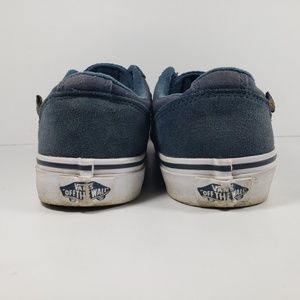 Vans Shoes - Vans Low Top Kids Skate Sneakers Youth Size 4 Blue